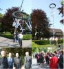 Am 1. Mai wurde der Maibaum aufgestellt