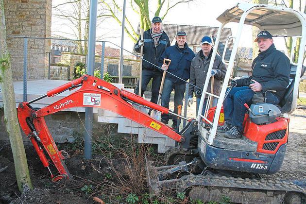 Neugestaltung des Eggeroder Kirchplatzes