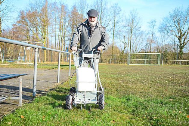 Platzwarte beim SV Eggerode – Der Karren bleibt im Schuppen