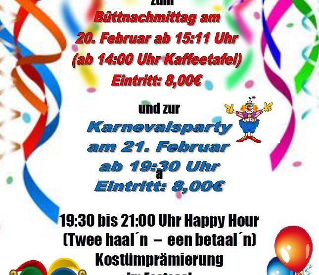 Eggero´ Helau Karneval 2020 in Eggerode